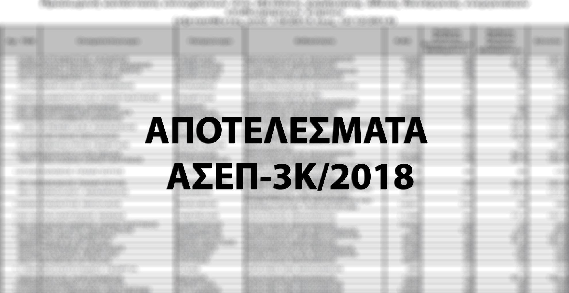 apotelesmata-3k-2018